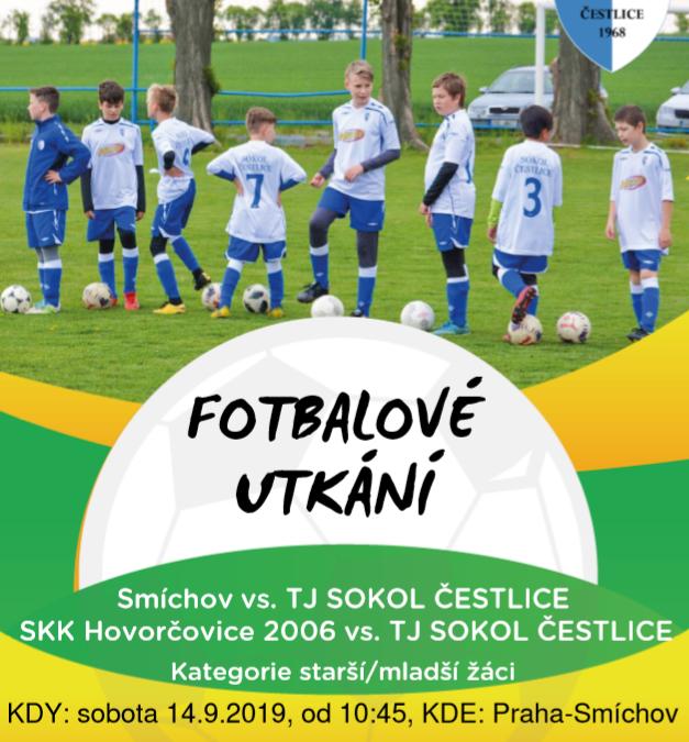 Mladší žáci zápas  TJ Hovorčovice – TJ SOKOL ČESTLICE