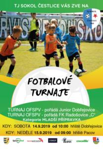 Mladší přípravka turnaj OFS Praha-východ (modrá) @ Junior Dobřejovice | Říčany | Středočeský kraj | Česko