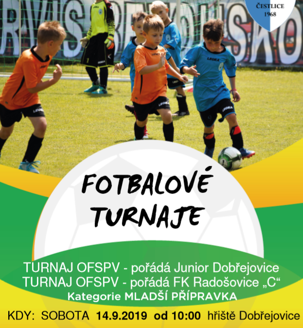 Mladší přípravka turnaj OFS Praha-východ (modrá)